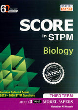 Score in STPM Model Papers (Biology - Paper 3) Third Term