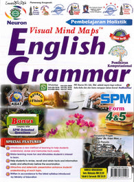 Pembelajaran Holistik Visual Mind Maps (English Grammar) SPM