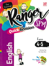 Ranger Quick Revision SPM (English)