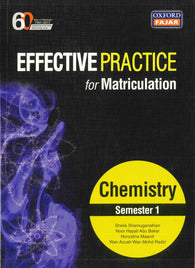 Effective Practice For Matriculation (Chemistry) Semester 1