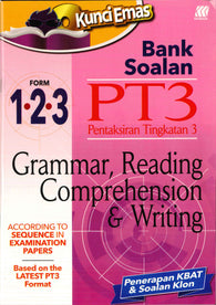 Kunci Emas Bank Soalan PT3 (Grammar , Reading Comprehension & Writing)