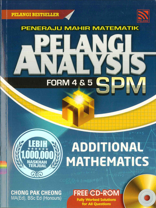 Pelangi Analysis SPM (Additional Mathematics)