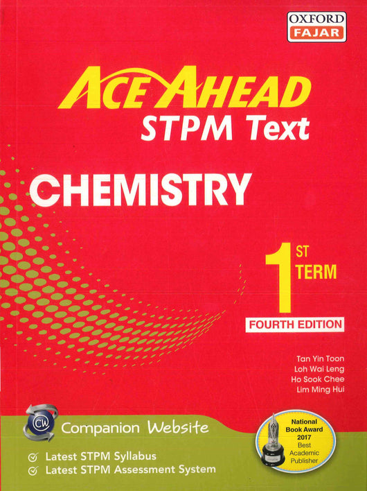 Ace Ahead STPM Text (Chemistry) First Term