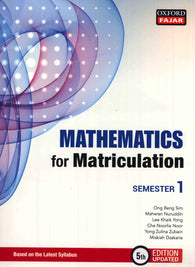 Matriculation (Mathematics) Semester 1