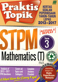 Praktis Topik STPM (Mathematics (T)) Term 3