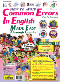 How To Avoid (Common Errors In English) Made Easy Through Comics