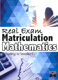 Real Exam Matriculation Mathematics (Accounting) Semester 1
