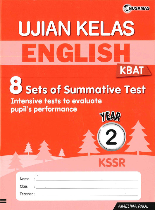 Ujian Kelas (English) Year 2