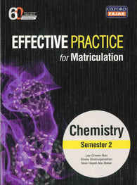 Effective Practice For Matriculation (Chemistry) Semester 2