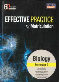 Effective Practice For Matriculation (Biology) Semester 2