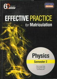 Effective Practice For Matriculation (Physics) Semester 2