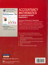 (Acccounting Mathematics For Matriculation) Semester 1