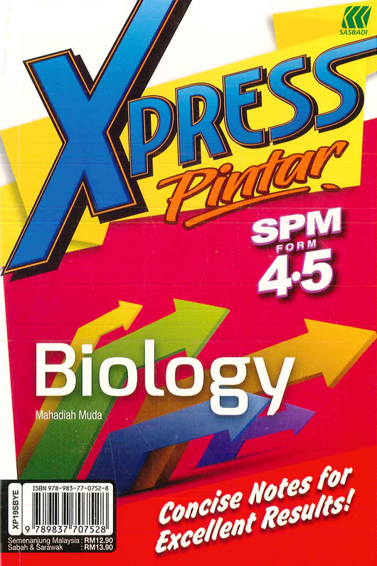Xpress Pintar SPM (Biology) Form 4.5
