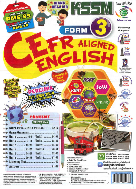 Cefr Aligned (English) Form 3