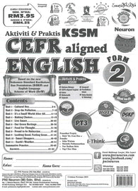 Aktiviti & Praktis KSSM (CEFR Aligned English) Form 2