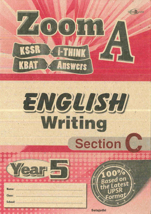 Zoom A (English) (Writing- Section C) Year 5