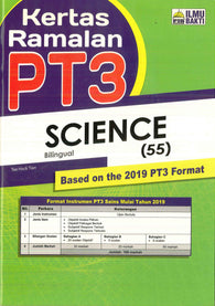 Kertas Ramalan PT3 (Science) (Bilingual)