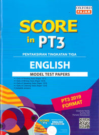 Score In PT3 (English) Model Test Paper