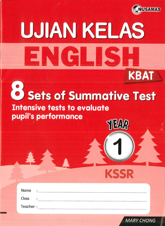 Ujian Kelas (English) Year 1