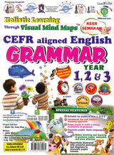 Holistic Learning Through Visual Mind Maps CEFR Aligned (English) (Grammar) Year 1,2 & 3