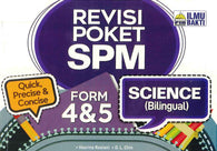 Revisi Poket SPM (Science) (Bilingual) Form 4 & 5