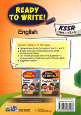 Ready To Write (English) Year 1.2.3