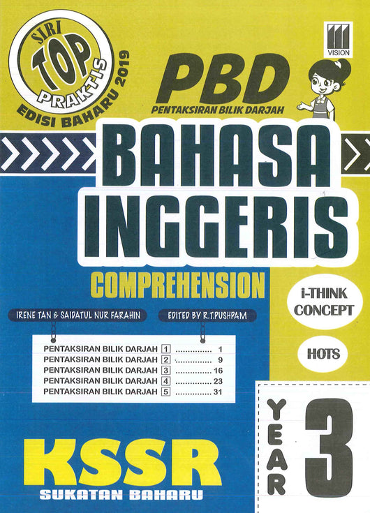 Siri Top Praktis (Bahasa Inggeris) (Comprehension) Year 3