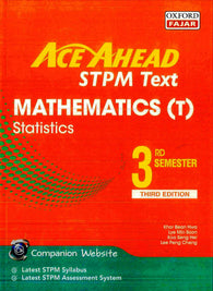 Ace Ahead STPM Text (Mathematics (T) Statistics) 3rd Semester