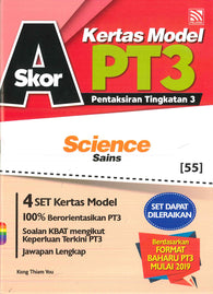 Skor A Kertas Model PT3 (Science/Sains)