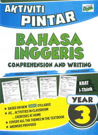 Aktiviti Pintar (Bahasa Inggeris) (Comprehension And Writing) Year 3