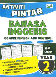 Aktiviti Pintar (Bahasa Inggeris) (Comprehension And Writing) Year 2