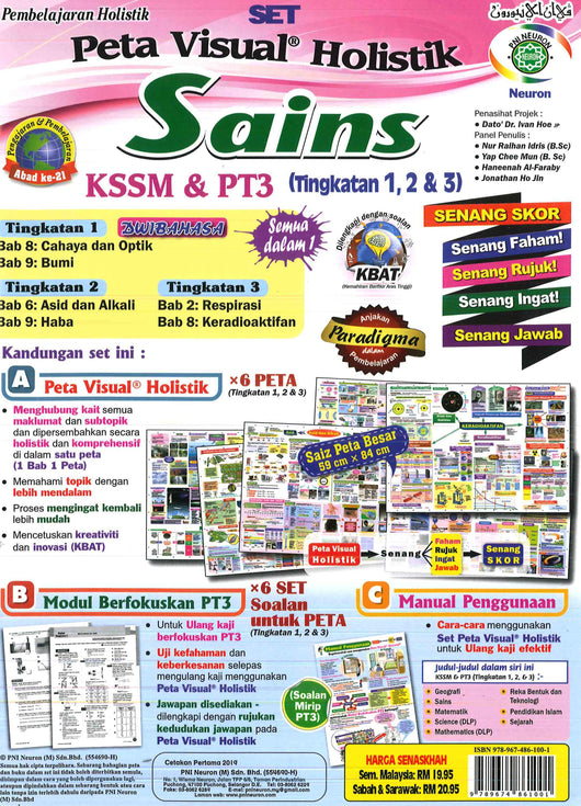 Peta Visual Holistik (Sains) (Dwibahasa) PT3