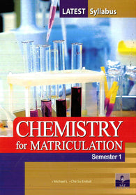 (Chemistry) For Matriculation Semester 1