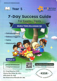 7-Days Success Guide For Exams/Test (Bahasa Melayu) (Bahasa Inggeris) (Sains) (Matematik) Year 5