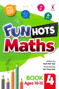 Fun Hots (Maths) Book 4-Ages 10-12