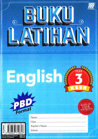 Buku Latihan (English) Year 3