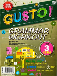Gusto (Grammar Workout) Form 3