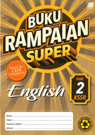 Buku Rampaian Super (English) Year 2