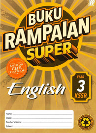 Buku Rampaian Super (English) Year 3