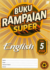 Buku Rampaian Super (English) Year 5