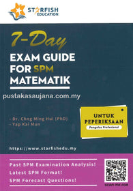 7-Day Exam Guide For SPM (Matematik)