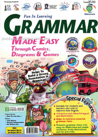 Fun In Learning (Grammar) Made Easy Through Comics, Diagrams & Games