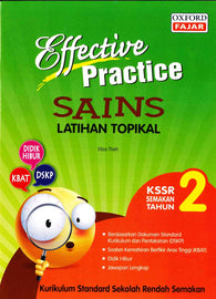 Effective Practice (Sains) Tahun 2