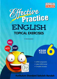Effective Practice (English) Year 6