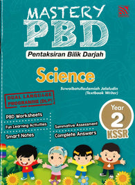 Mastery PBD (Science) Year 2