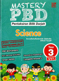 Mastery PBD (Science) Year 3