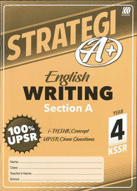 Strategi A+ (English) (Writing) Section A Year 4