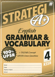 Strategi A+ (English) (Grammar & Vocabulary) Year 4