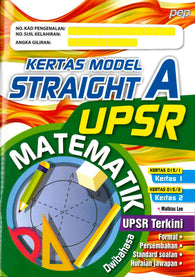 Kertas Model Straight A (Matematik) UPSR