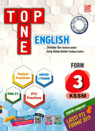 Top One (English) Form 3